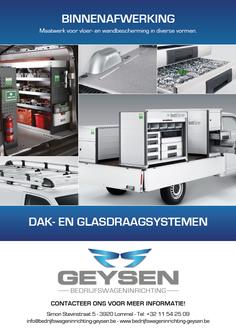 Van Bun Communicatie & Vormgeving - Grafische vormgeving - Lommel - Leaflet & Flyer Auto's Geysen