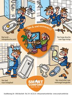 Van Bun Communicatie & Vormgeving - Grafische vormgeving - Lommel - Advertentie - Smart Comfort