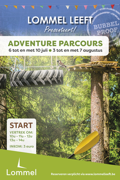 Dirk Van Bun Communicatie & Vormgeving - Grafische vormgeving - reclame - publiciteit - Lommel - Lommel Leeft - Adventure parcours