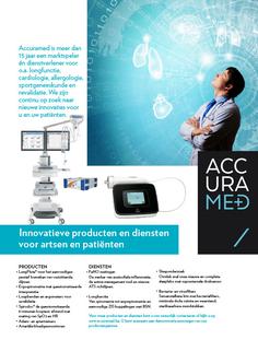 Van Bun Communicatie & Vormgeving - Grafische vormgeving - Lommel - Advertentie - Accuramed