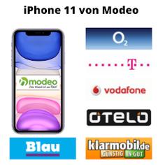 Apple iPhone 11 ohne Vertrag bei Modeo bestellen