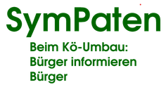 "Freiwilligen-Zentrum Augsburg - Logo SymPaten - ""Kö-Umbau"" 2012"