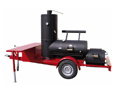 Joe´s Barbeque Smoker Trailer