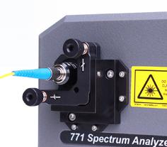 Faserkopplung für Wellenlängenmessgeräte und Spektrum Analysatoren