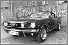 FORD Mustang 1965 Fastback Black