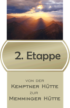 2. Etappe E5 Fernwanderweg von der Kemptner Hütte zur Memminger Hütte / Bildnachweis CCO Pixabay - Oimheidi