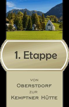 1 Etappe E5 Fernwanderweg von Oberstdorf zur Kemptner Hütte / Bildnachweis CCO Pixabay - Norbert Waldhausen