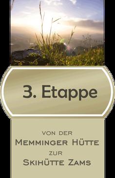 3. Etappe E5 Fernwanderweg von der Memminger Hütte zur Skihütte Zams / Bildnachweis CCO Pixabay Jonas Fehre