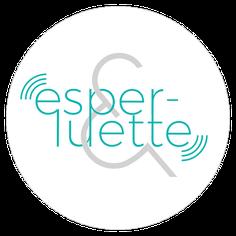 Logo esperluette podcast et lien vers le site internet