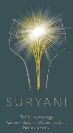 SURYANI Niederrohrdorf, Tibetische Massage, Körper- Klang- und Energiearbeit, Naturkosmetik