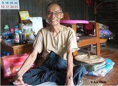 U Aye Thein, qui a reçu un microcédit de PASDB.