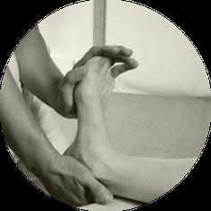Fussreflexzonen Massage bei Praxis Bodycare in Rombach, Aarau