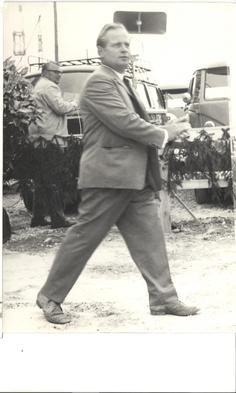 Firmengründer Heinz Ehlers