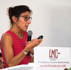 Dr. Agnès Guerci-Bresler hématologue LMC France leucemie myeloide chronique grossesse desir enfant ITK inhibiteur tyrosine kinase