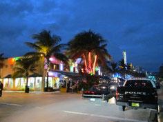 Ocean Drive bei Nacht