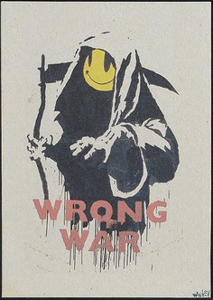 Banksy Wrong War