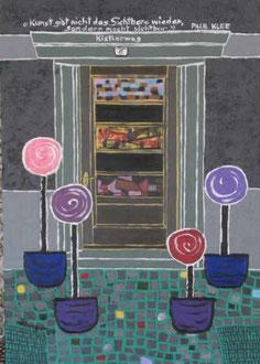 Kunst gibt nicht das Sichtbare wieder, sondern macht sichtbar   Paul Klee