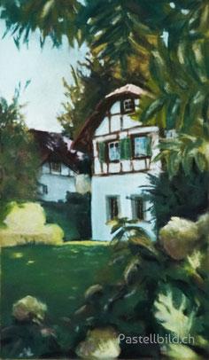 Leissigen, berner oberland, malerei, moderne kunst, Thea Herzig