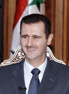 رئيس الجمهورية العربية السورية الدكتور بشار الأسد