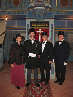 Hoher Besuch aus Herzogs Zeiten verweilte in Dobraschütz