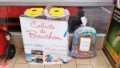 Bouchons de l'Espoir - Collecte Auchan Vélizy.