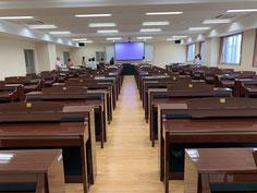 ⬆︎講習会が開催される予定だった部屋。