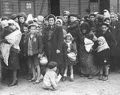 Deportazione degli ebrei romani, foto d'archivio