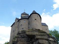 Die Burg Falkenberg