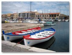 Le port de Mèze