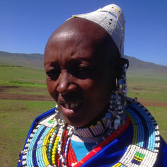 Massai auf einer Tansania Safari