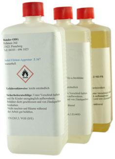 Appretur für Filz, Stroh, Universal Appretur  1 Liter Flaschen