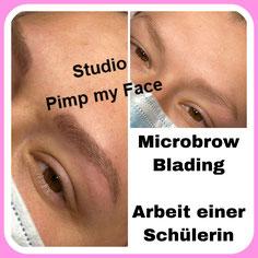 Diamant Blading - Nano Blading Hamburg Bramfeld - Studio Pimp my Face - Stefanie Lopez - Härchentechnik - Härchenzeichnung - Permanent Make Up - Microblading - Eyebrows - Schulungen - Augenbrauen- Weiterbildung
