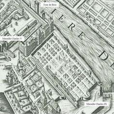 Plan de Vassalieu. Paris 1609