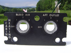 UH-1D light plate CABIN HEATING