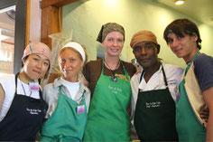Sugi, Nichole, Katrina, Kosan and me