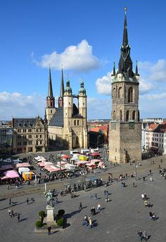 """© D. Graewe """"Marktkirche in Halle"""""""