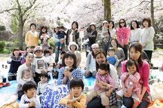 団員でお花見2009