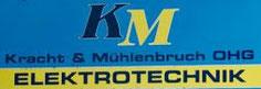 Kracht & Mühlenbruch oHG Elektrotechnik  Herr Falk Kracht  Kattenturmer Heerstr. 281  28277 Bremen