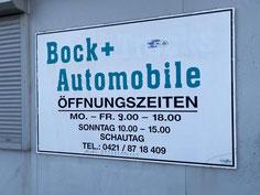Bock Automobile  Kattenturmerheerstr. 37 B  28277 Bremen