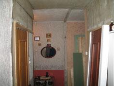 Фото. Установка арки (вид до установки).