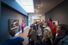 Visite-éclair pour la Nuit des musées, mai 2015. © Mathieu Le Gall