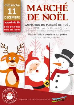 Marché de Noël Thuré le Dimache 11 décembre 2016