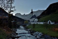 #ramsau , #nationalpark , #kirche , #berchtesgaden , #wildbach, #gipfel , #bayern , #watzmann , #reisen