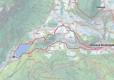 Vom Hintersee über Wartstein , Ramsau und Zauberwald zurück