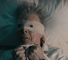 """David Bowie Lazarus ---"""" Look up here, I'm in heaven I've got scars that can't be seen"""""""