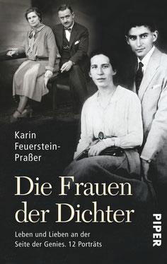 """Cover """"Die Frauen der Dichter"""", Karin Feuerstein-Praßer, Piper Taschenbuch"""