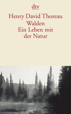 Buchcover Walden, Henry David Thoreau, dtv