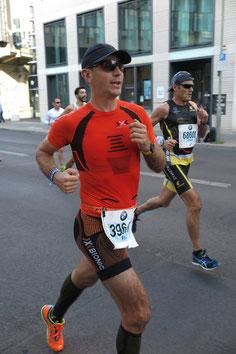 Franz Weixelbaum beim Berlin-Marathon (Foto: Esther Weixelbaum)