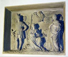 Relief der Todesszene der hl. Katharina - Foto: HPD