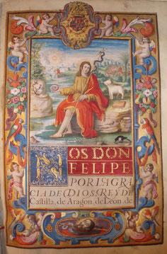 San Juan Bautista, manuscrito miniado, simbolismo, iconografía, tasación de manuscritos